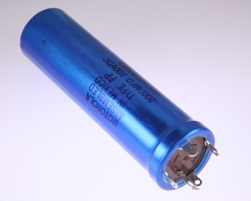 Picture of 23D83093G21 MALLORY capacitor 2,000uF 100V Aluminum Electrolytic Large Can Twist Lock