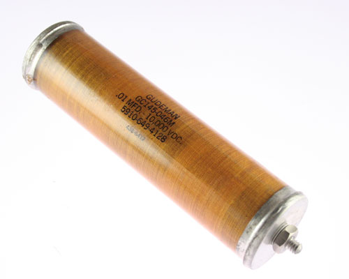 Picture of GC145-046M GUDEMAN capacitor 0.01uF 10000V Glass Axial