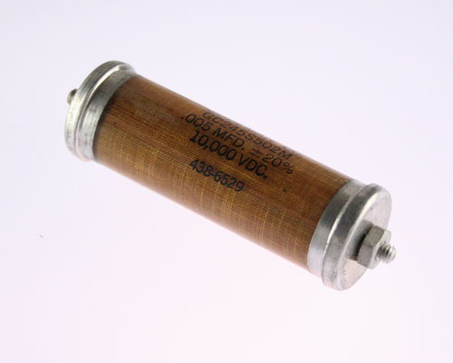 Picture of GC245S502M GUDEMAN capacitor 0.005uF 10000V Glass Axial