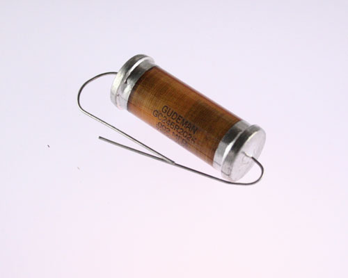 Picture of GC246R202K GUDEMAN capacitor 0.002uF 7500V Glass Axial