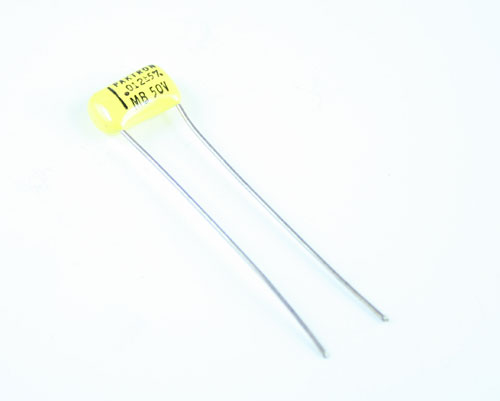 Picture of 103JP5MB580L1 PAKTRON capacitor 0.01uF 50V Film Metallized Polyester Radial