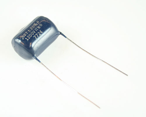Picture of RM273M1200V-0.93 PAKTRON capacitor 0.027uF 1200V FILM RADIAL