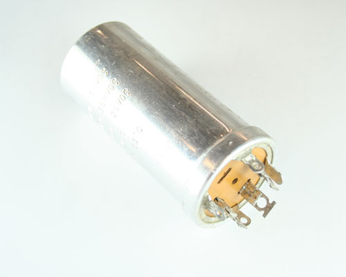 Picture of 1033 BYAB capacitor 120uF 150V Aluminum Electrolytic Large Can Twist Lock