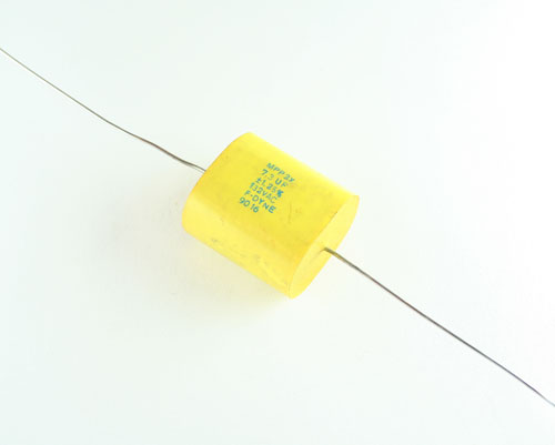 Picture of MPP2X-7.3-132-1.25 F-DYNE capacitor 7.3uF 132V Film Metallized Polypropylene Axial
