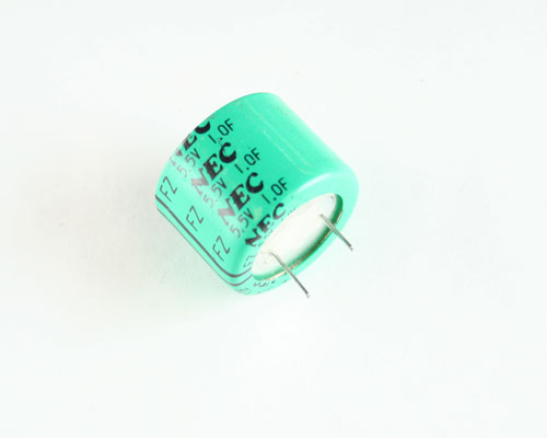 Picture of FZOH105Z NEC capacitor 1F 5.5V Aluminum Electrolytic Radial