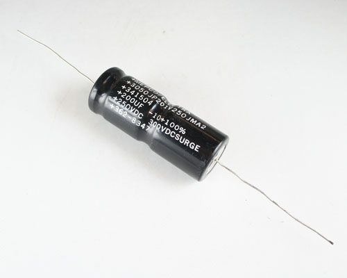 Picture of 3050JP201V250JMA2 PHILIPS capacitor 200uF 250V Aluminum Electrolytic Axial