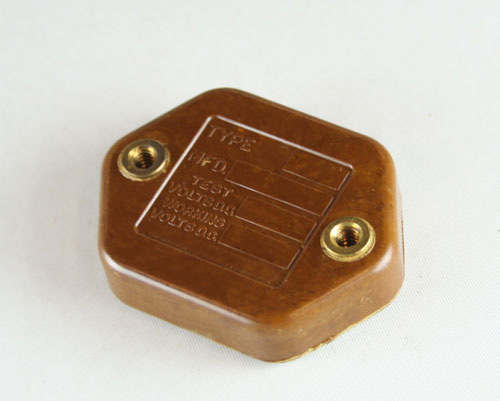 Picture of CM55E202GN3 SANGAMO capacitor 0.002uF 2500V Silver Mica Transmitting