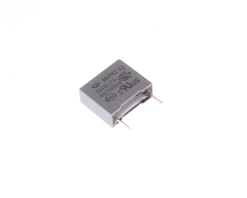 Picture of BC104M275V-.4CL SURGE capacitor 0.1uF 275V Film Radial
