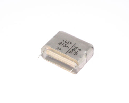 Picture of MPX21W34706BMSS WIMA capacitor 0.47uF 275V Film Metallized Paper Radial