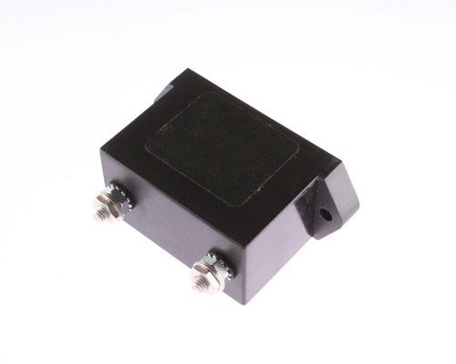 Picture of F230B602JM Cornell Dubilier (CDE) capacitor 0.006uF 3000V Silver Mica Transmitting