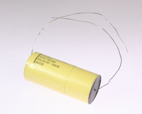 Picture of AM555M400V AMERICAN RADIONICS capacitor 5.5uF 400V Film Polyester Axial