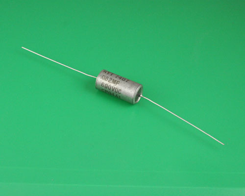 Picture of CP04A1KF823K3 NYT capacitor 0.082uF 600V Hermetic Paper Axial