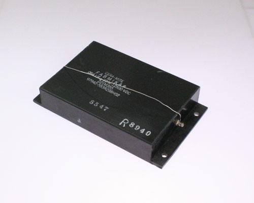 Picture of 221M355 CERAMITE capacitor 0.064uF 12500V Silver Mica Transmitting