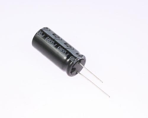 Picture of ER688M63V16X35-105 ITT capacitor 6,800uF 6.3V Aluminum Electrolytic Radial High Temp
