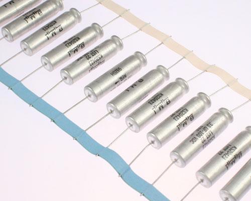 Picture of KS20423L22 BARKER MICROFARADS (BMI) capacitor 33uF 100V Aluminum Electrolytic Axial