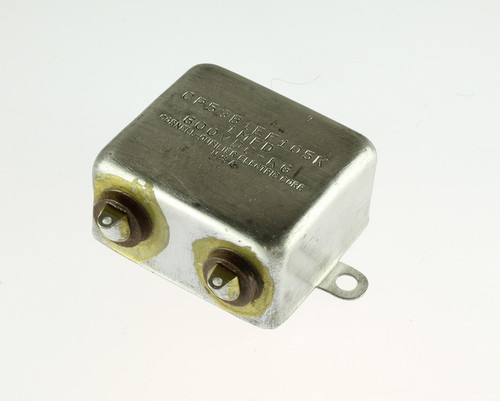 Picture of CP53B1EF105K CDE capacitor 1uF 600V Oil Hermetically Sealed Radial