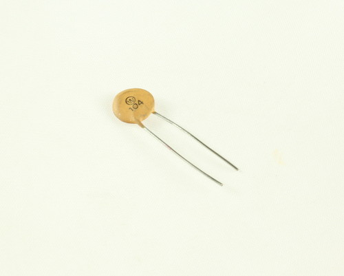 Picture of CD104Z16V.35 WIT capacitor 0.1uF 16V Ceramic Disc