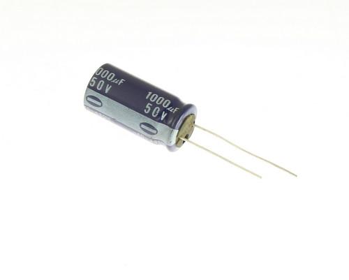 Picture of ECEA1HU102 PANASONIC capacitor 1,000uF 50V aluminum electrolytic radial