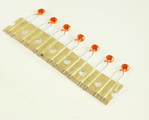 Picture of 562CX7RTK501EC101K VISHAY capacitor 100pF 500V Ceramic Disc