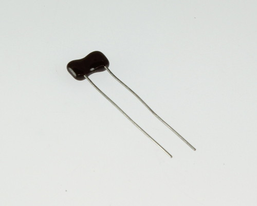 Picture of DM15ED590J03 SAHA capacitor 59pF 500V Silver Mica Dipped