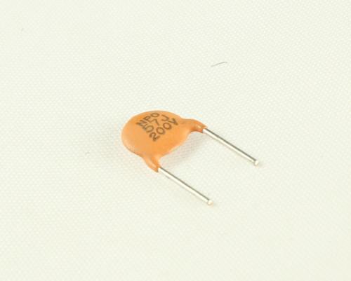 Picture of CD570J200V.25NPO BYAB capacitor 57pF 200V Ceramic Disc