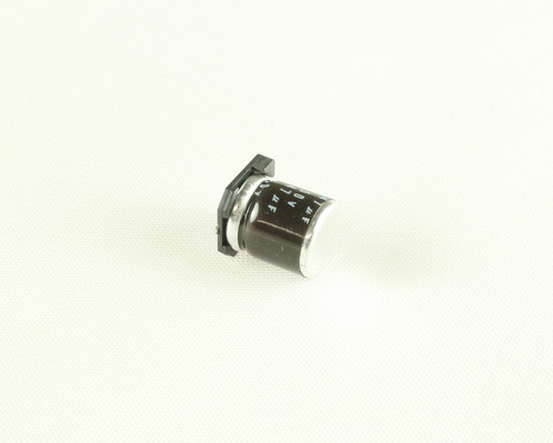 Picture of MVK50VC47MH10 UCC capacitor 47uF 50V Aluminum Electrolytic Surface Mount High Temp