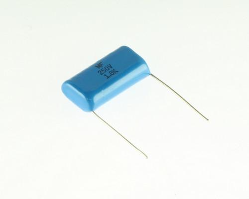 Picture of MF250V1.8K XICON capacitor 1.8uF 250V film radial