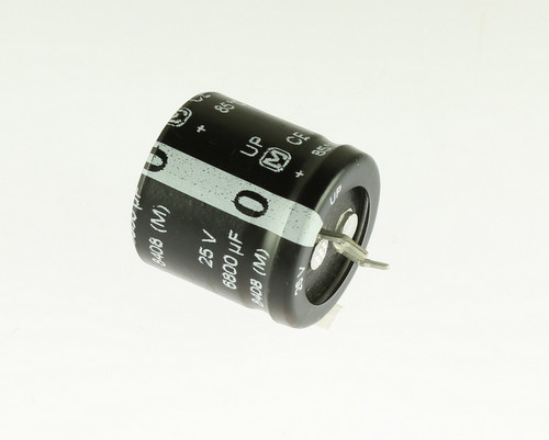 Picture of ER688M25V25X2585-SNAP PANASONIC capacitor 6,800uF 25V Aluminum Electrolytic Snap In