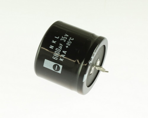 Picture of ER688M35V35X3185-SNAP NKL capacitor 6,800uF 35V Aluminum Electrolytic Snap In
