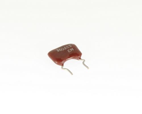 Picture of DM19FD151J03FL EM capacitor 150pF 500V Silver Mica Dipped