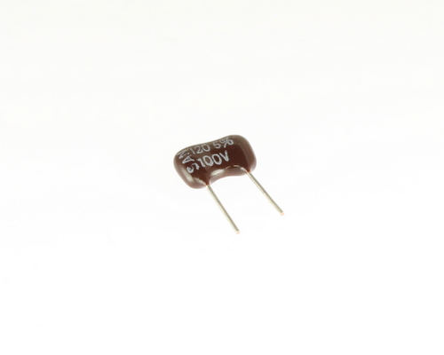 Picture of DM15FA121J03FL SANG capacitor 120pF 100V Silver Mica Dipped