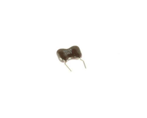Picture of CM05ED300JO3FL CDE capacitor 30pF 500V Silver Mica Dipped