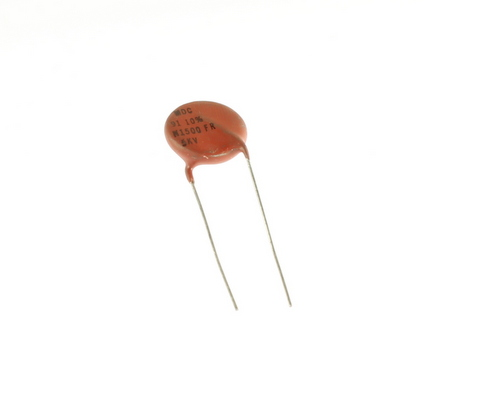 Picture of CD910K5KV.75 MDC capacitor 91pF 5000V Ceramic Disc
