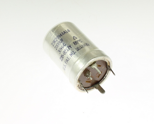 Picture of 23R29944A14 BYAB capacitor 2,000uF 30V Aluminum Electrolytic Large Can Twist Lock