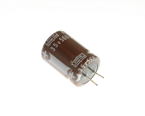 Picture of CA10Z561W035S UCC capacitor 560uF 35V Aluminum Electrolytic Radial High Temp