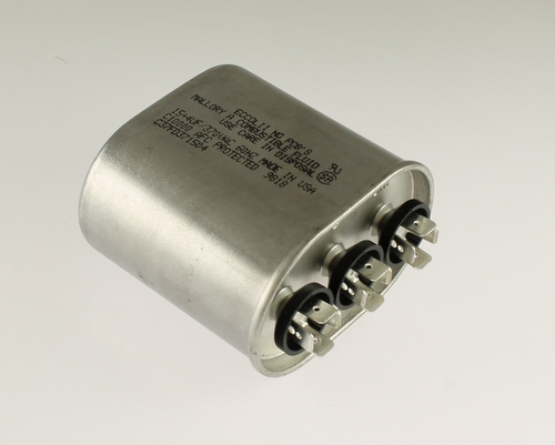 Picture of C37FD371504 MALLORY capacitor 15uF 370V Application Motor Run