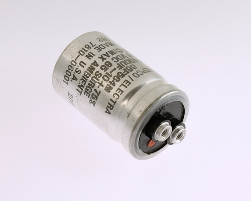 Picture of 86F564M PHILIPS capacitor 2,400uF 50V Aluminum Electrolytic Large Can Computer Grade