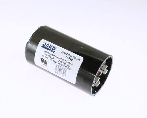 61b4d220145ncms Jard Mars Capacitor 145uf 220v Application