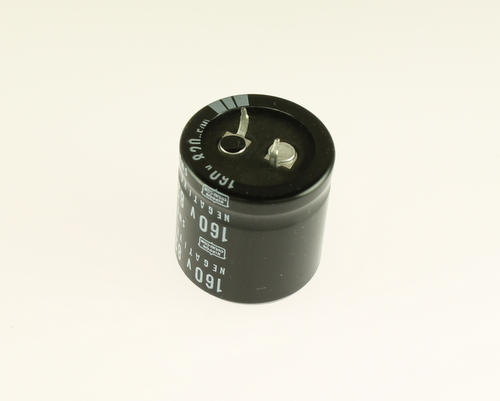 Picture of SMG160VS821M30X30T2 UCC capacitor 820uF 160V Aluminum Electrolytic Snap In