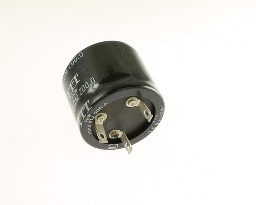 Picture of ER102M200V50X4085 ITW-PAKTRON capacitor 1,000uF 200V Aluminum Electrolytic Radial