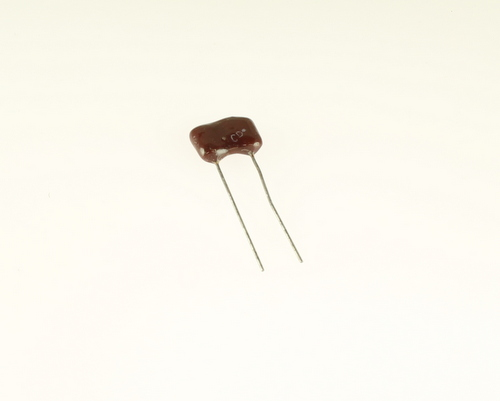 Picture of DM19FD202JO3 CDE capacitor 0.002uF 500V Tantalum Dipped