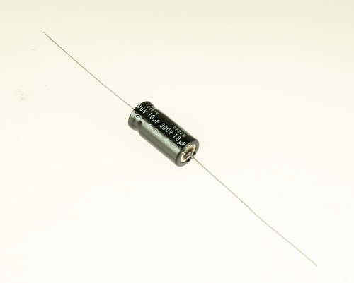Picture of EA106M300V12X2785 UCC capacitor 10uF 300V Aluminum Electrolytic Axial