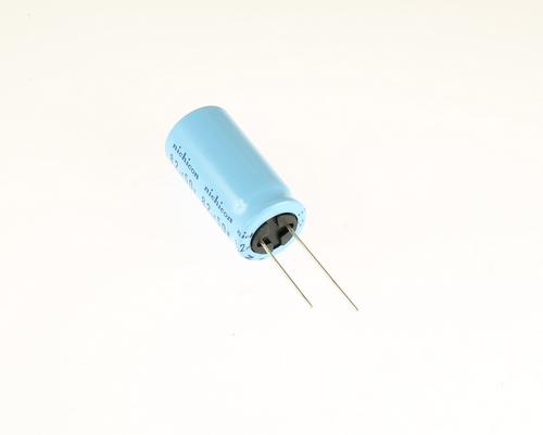 Picture of UHA1H8R2KHA NICHICON capacitor 8.2uF 50V Aluminum Electrolytic Radial