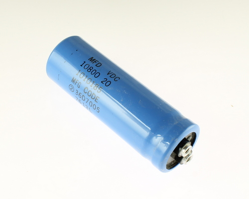 Picture of CGE1082M20R4CLP SPRAGUE capacitor 10,800uF 20V Aluminum Electrolytic Large Can Computer Grade