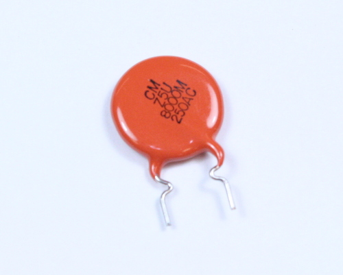 Picture of 30LVD80 VISHAY capacitor 0.008uF 250V Ceramic Disc