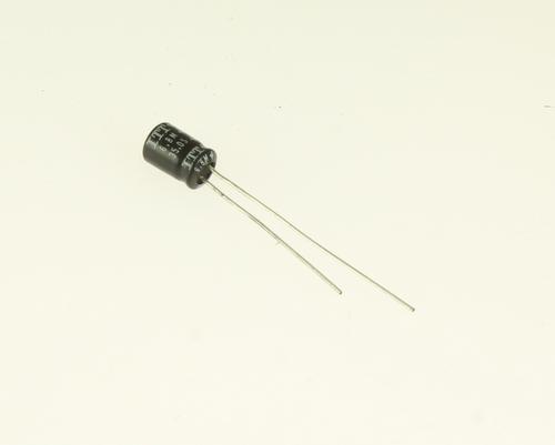 Picture of ER685M35V5X785 ITT capacitor 6.8uF 35V Aluminum Electrolytic Radial