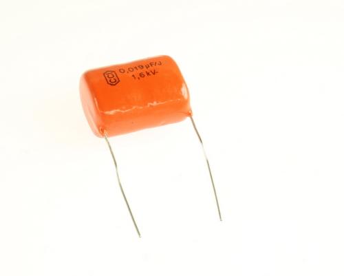 Picture of RM193J1R6KV1 BYAB capacitor 0.019uF 1600V film radial
