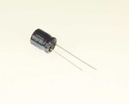 Picture of ER336M80V10X1285 NICHICON capacitor 33uF 80V Aluminum Electrolytic Radial