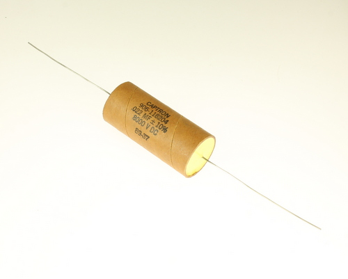 Picture of AM223K8KV CAPTRON capacitor 0.022uF 8000V Film Paper Axial