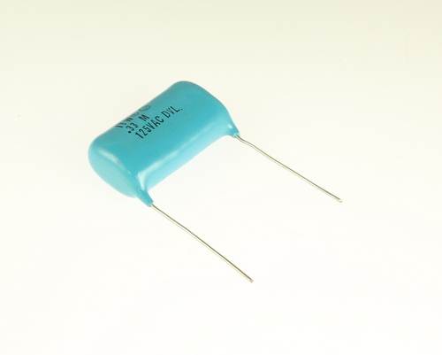 Picture of 334MACDVL1950L ITW-PAKTRON capacitor 0.33uF 125V Film Metallized Polyester Radial